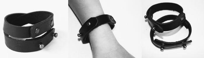 Liene Zeilisa - adas rotas- aproce- leather earrings, bracelets, necklaces (67)