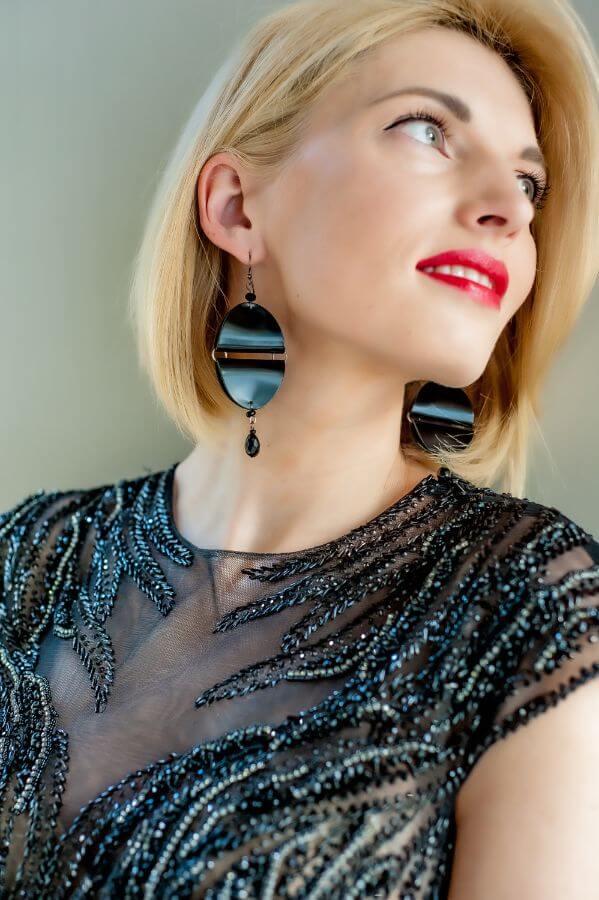 handmade earrings in Latvi
