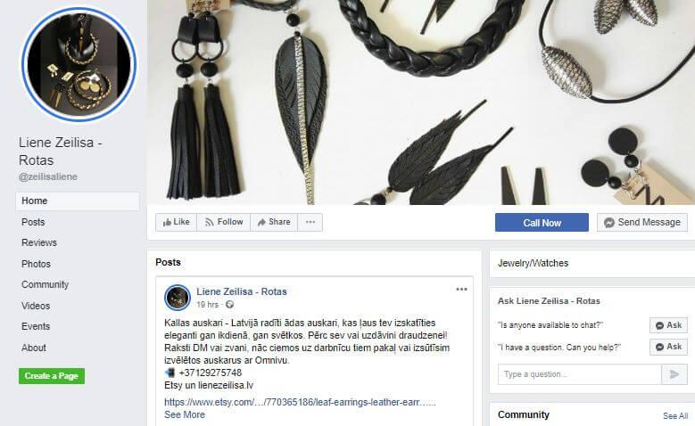 Facebook Zeilisa